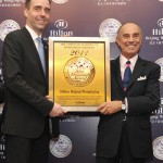 Hilton Beijing Wangfujing was honored at International Five Star Diamond Award Gala Ceremony