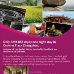 Crowne Plaza Zhangzhou's Romantic Guest Room Experience