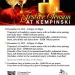 Festive Season at Kempinski Hotel Beijing