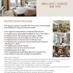 Langham Place Xiamen Winter Room Package