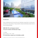 Pool-Brunch from Radisson Blu Hotel Pudong Century Park