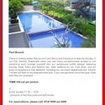 Pool Brunch at Radisson Blu Pudong Century Park