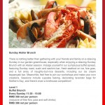 Sunday Atelier Brunch at Radisson Pudong in Shanghai